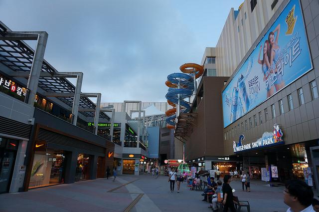【注葉站】貼近韓流世界.一山水上樂園複合商城 원마운트 Onemount複合商場 (繼承者們 拍攝場景)