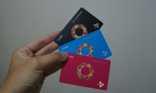 韓國最大聯合會員集點卡 – CJ ONE CARD (YG Family 、RAIN、玉澤演、徐仁英、Super Star K等韓星代言)