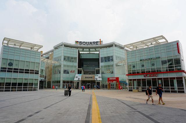 【仁川-東春站】仁川特色複合式熱氣球購物中心 – 『SQUARE1스퀘어원』百年新娘-康洲(李洪基)家的太陽百貨公司