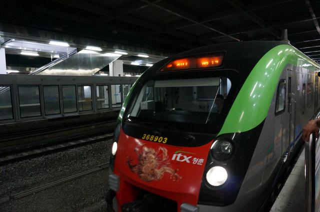 【交通】itx청춘青春高速列車 實乘記(龍山站→直達→加平站)
