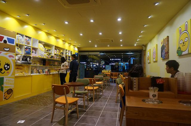 【論峴站】韓國最大通訊APP – KAKAO TALK 實體門市 & 咖啡廳(CAFFE TALK카페톡 -江南大路店)!~ 與貼圖明星一起喝咖啡吧!(已閉店)