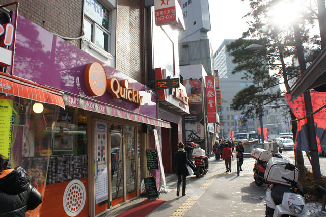 【食記】首爾明洞的道地台灣味- 퀴클리快可立 珍珠奶茶!!